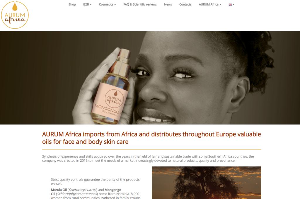 Aurum africa - African cosmetic
